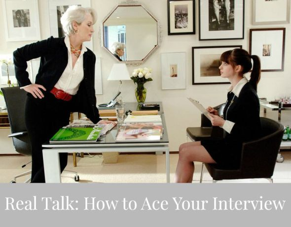 Real Talk: How to Ace Your Interview // Candid Statement