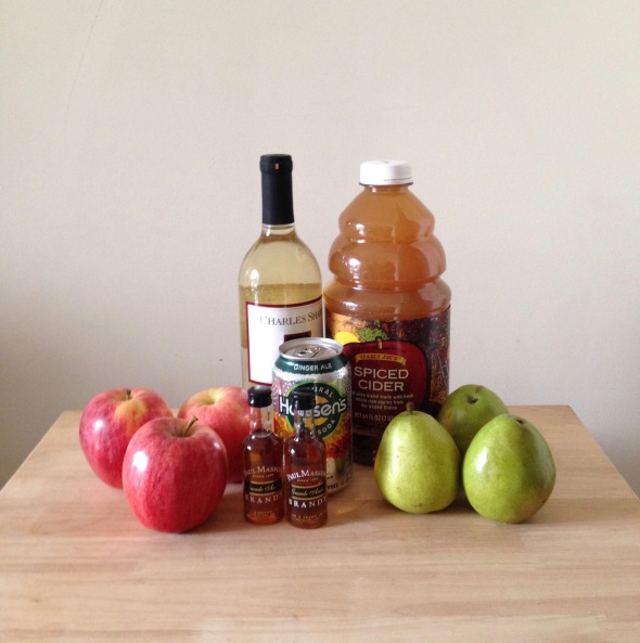 Apple Cider Sangria // Candid Statement