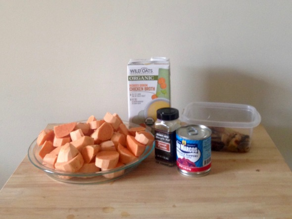 Sweet Potato Chipotle Soup // Candid Statement